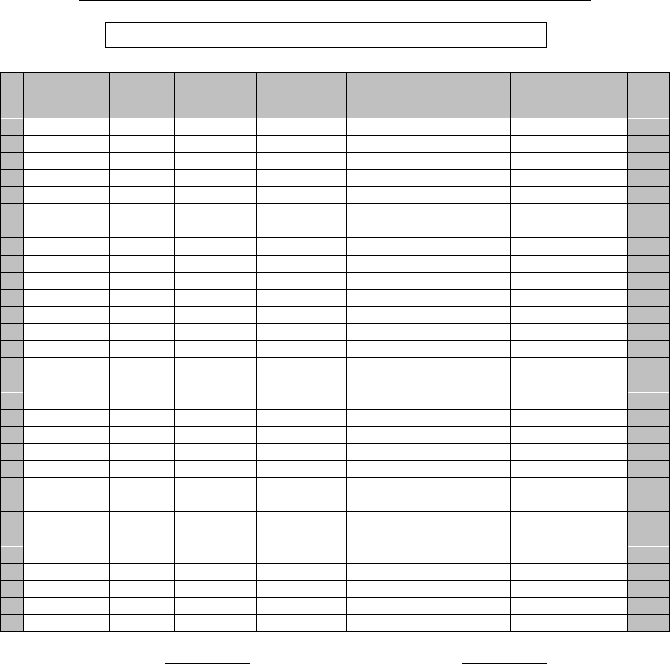 Doc895629 Blank Roster blank roster 64 Related Docs – Blank Roster Template