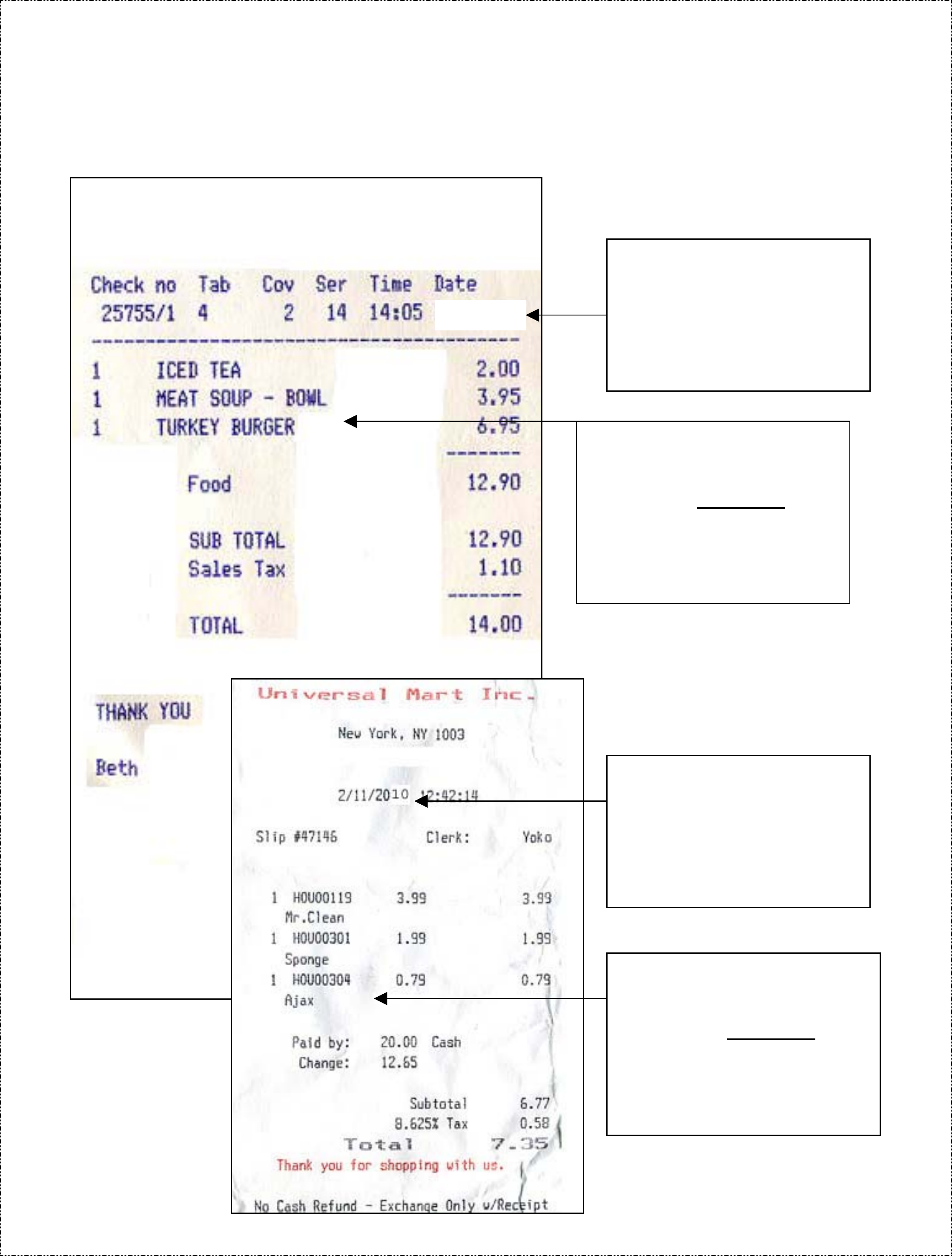 Printable invoice template word