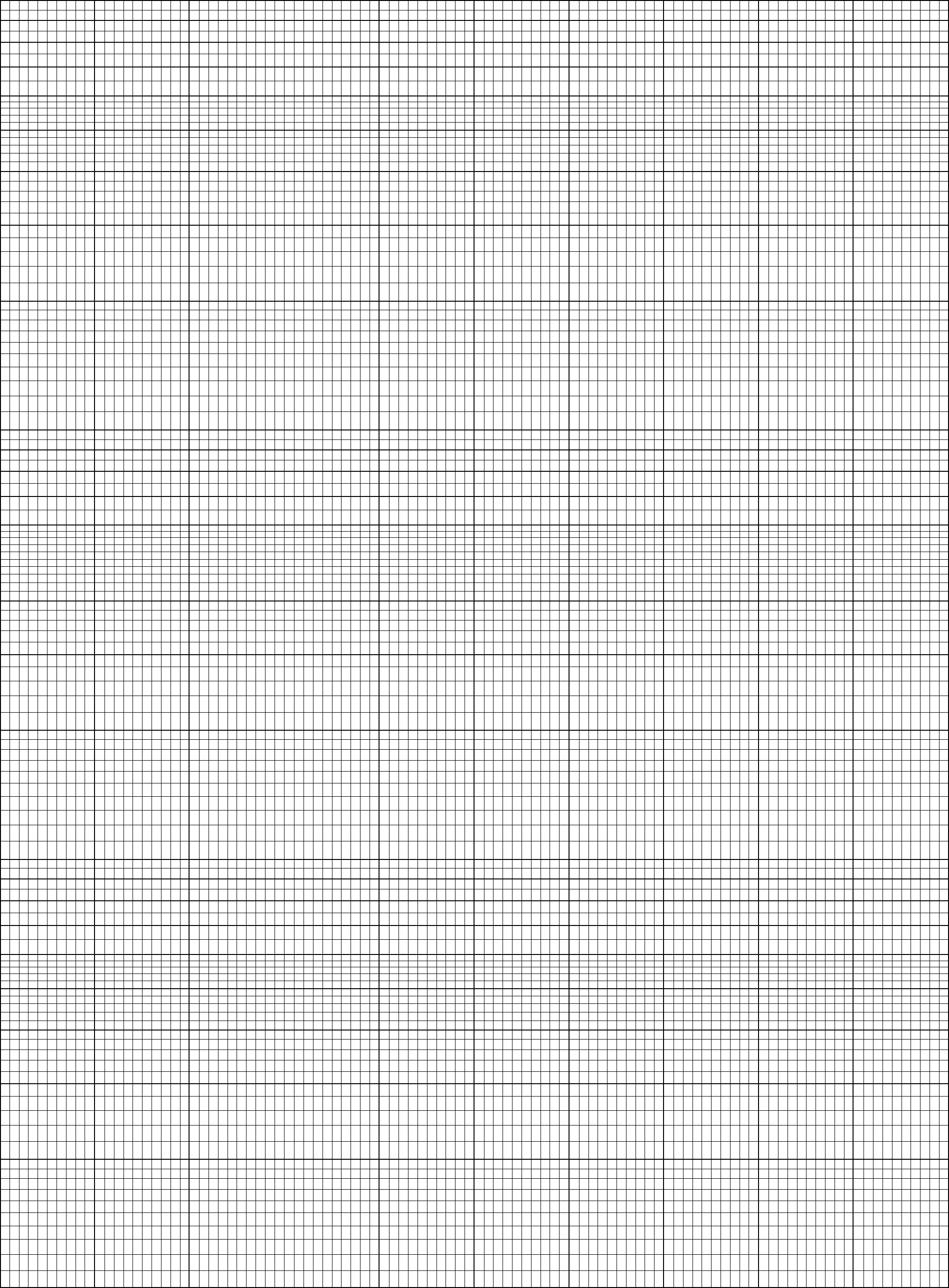semi log numbered graph paper template free download