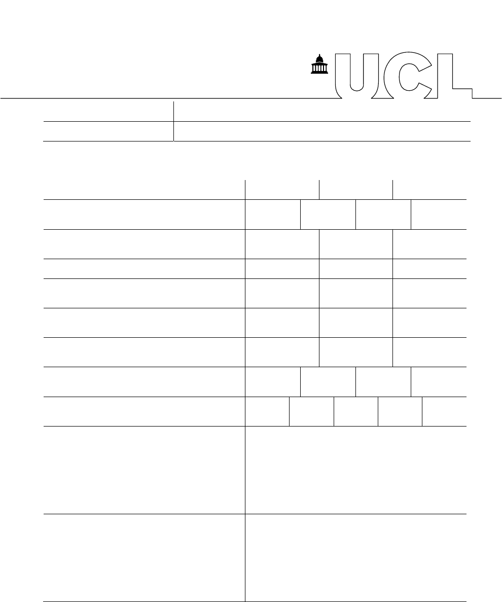 UCL Seminar Evaluation Form Free Download – Seminar Evaluation Form