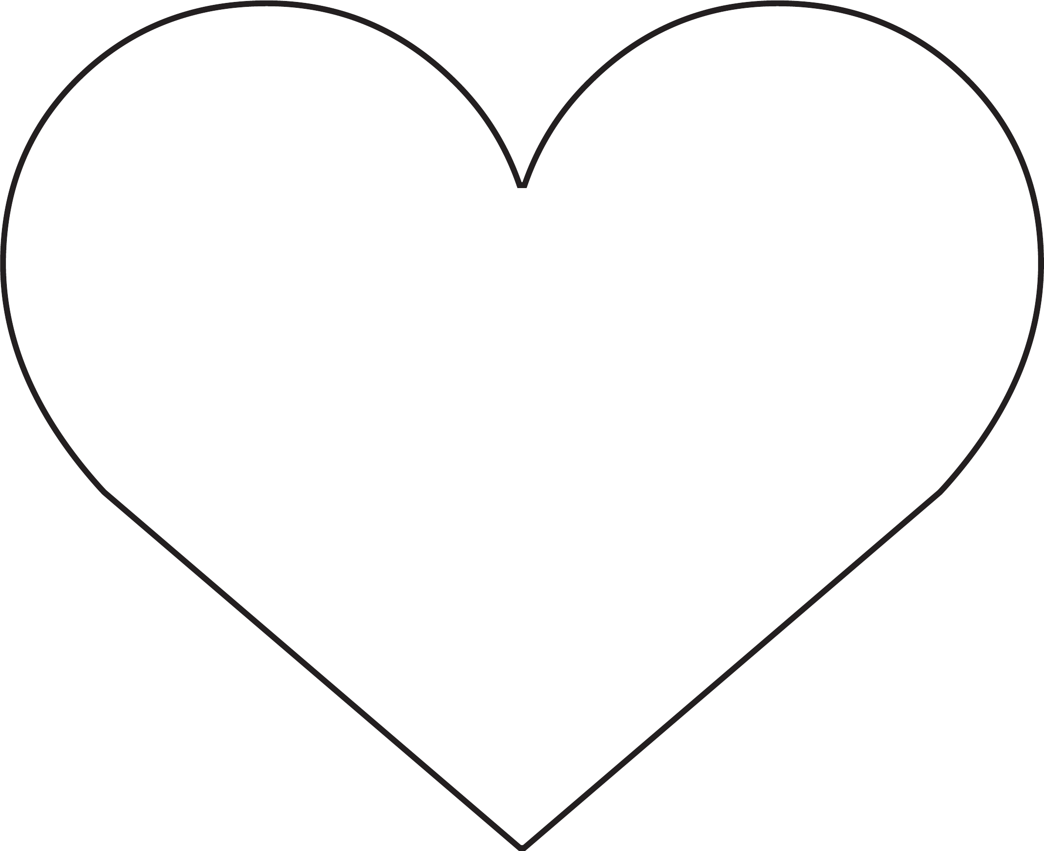 Sample Heart Template Free Download