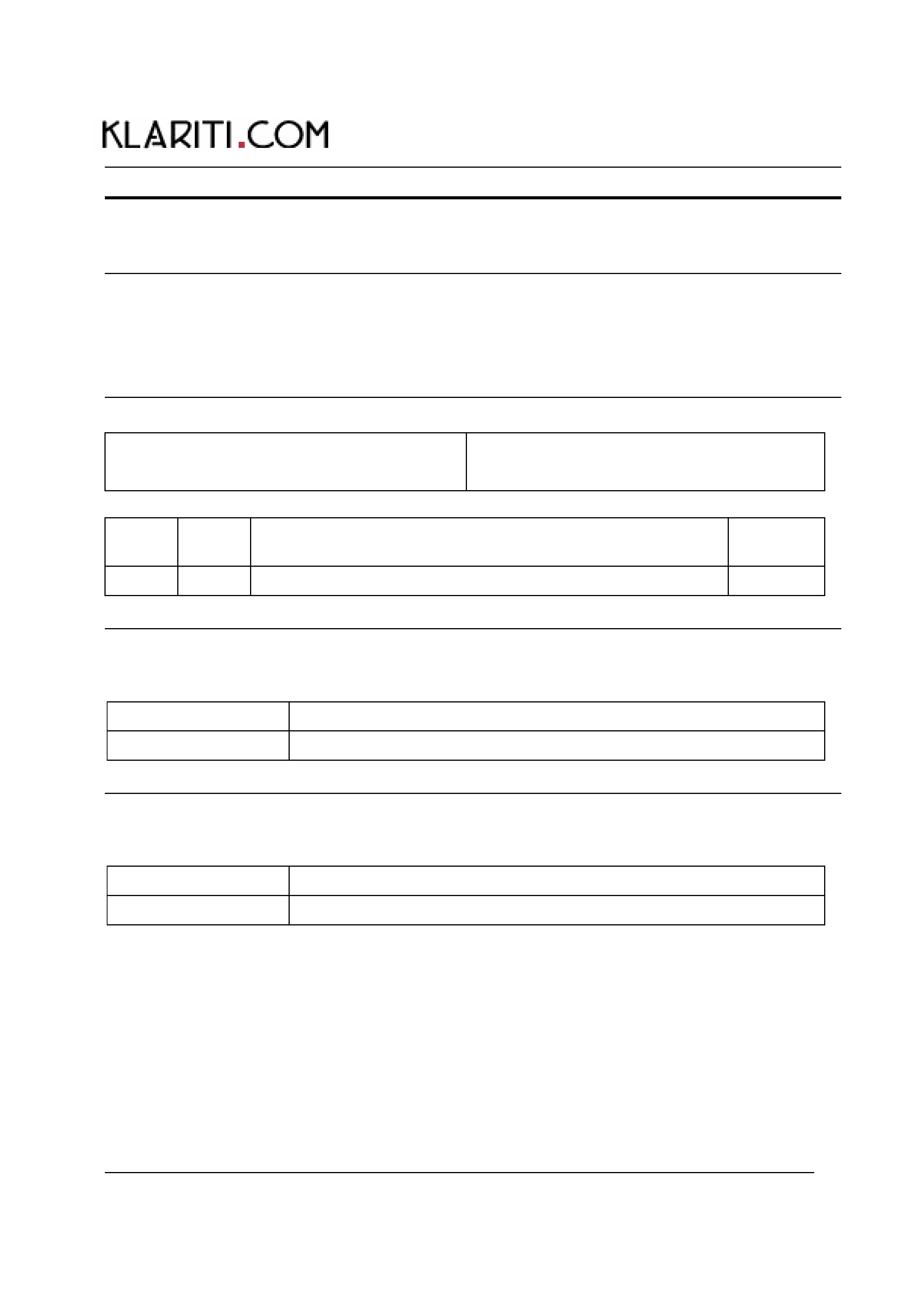 Standard Operating Procedure Template Free Download