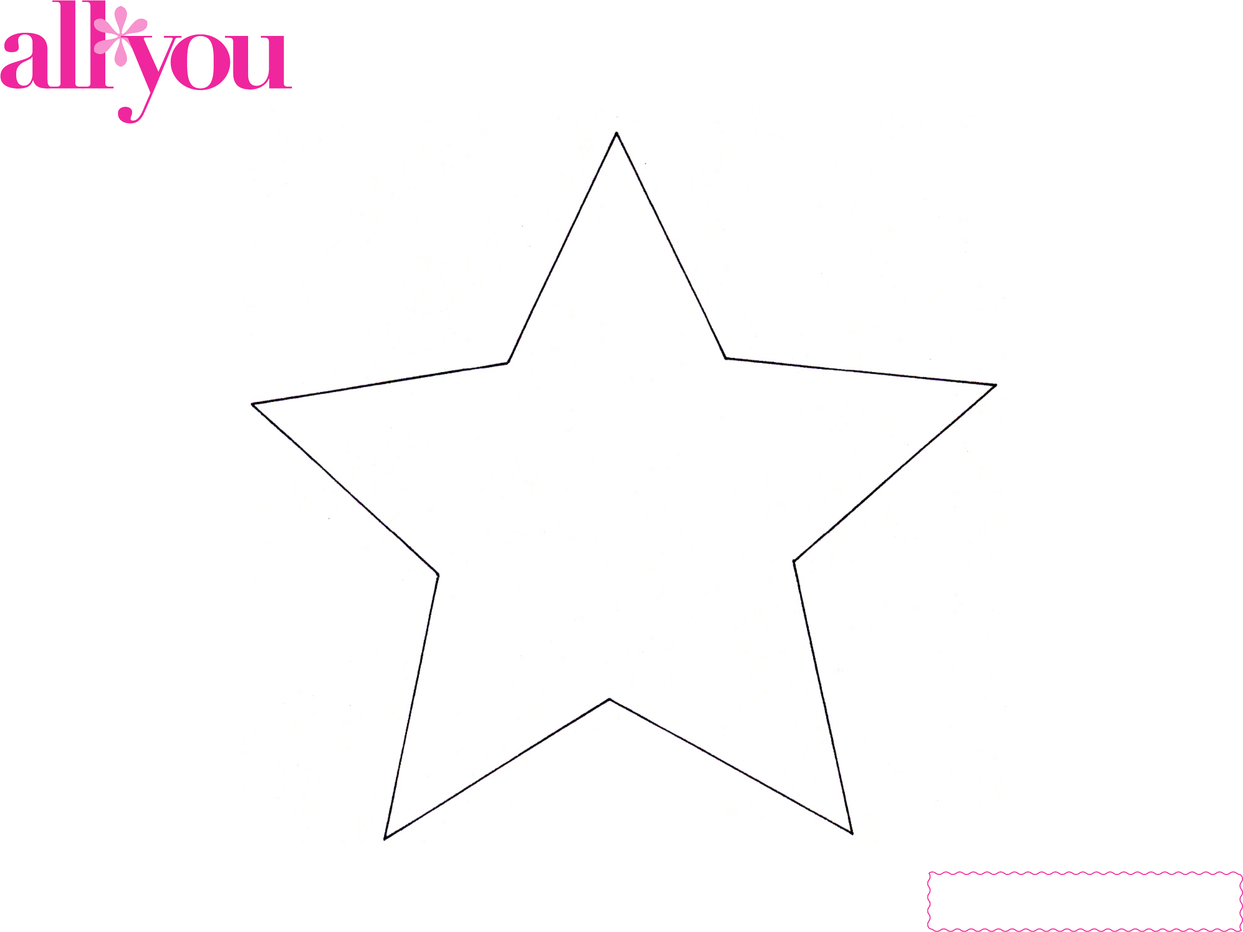 Basic Star Template Free Download