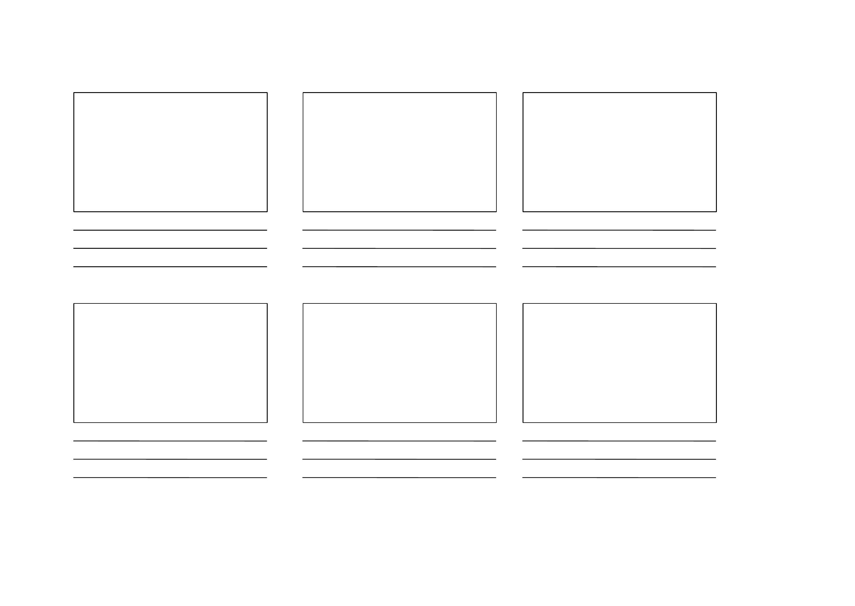 Blank Storyboard Template Free Download
