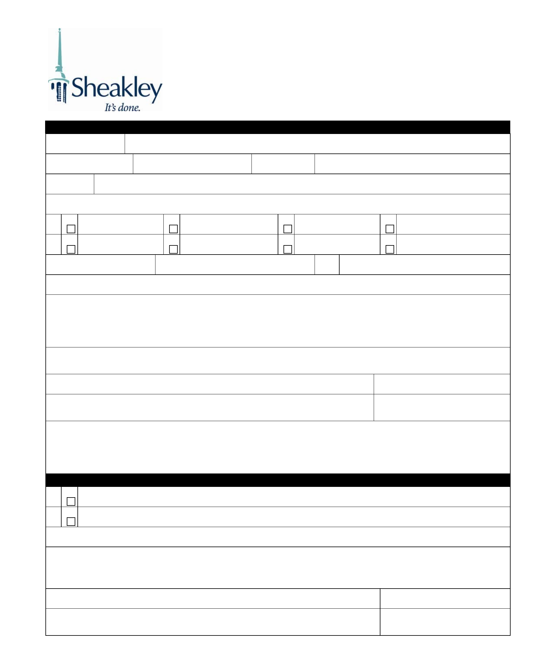 Blank Employee Time Off Request Form Free Download