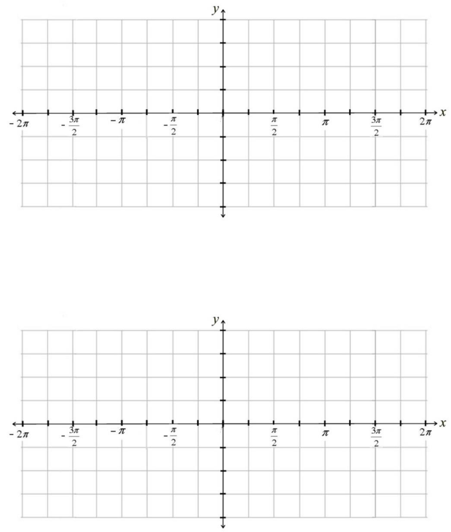 Trig Graph Paper Sample Free Download