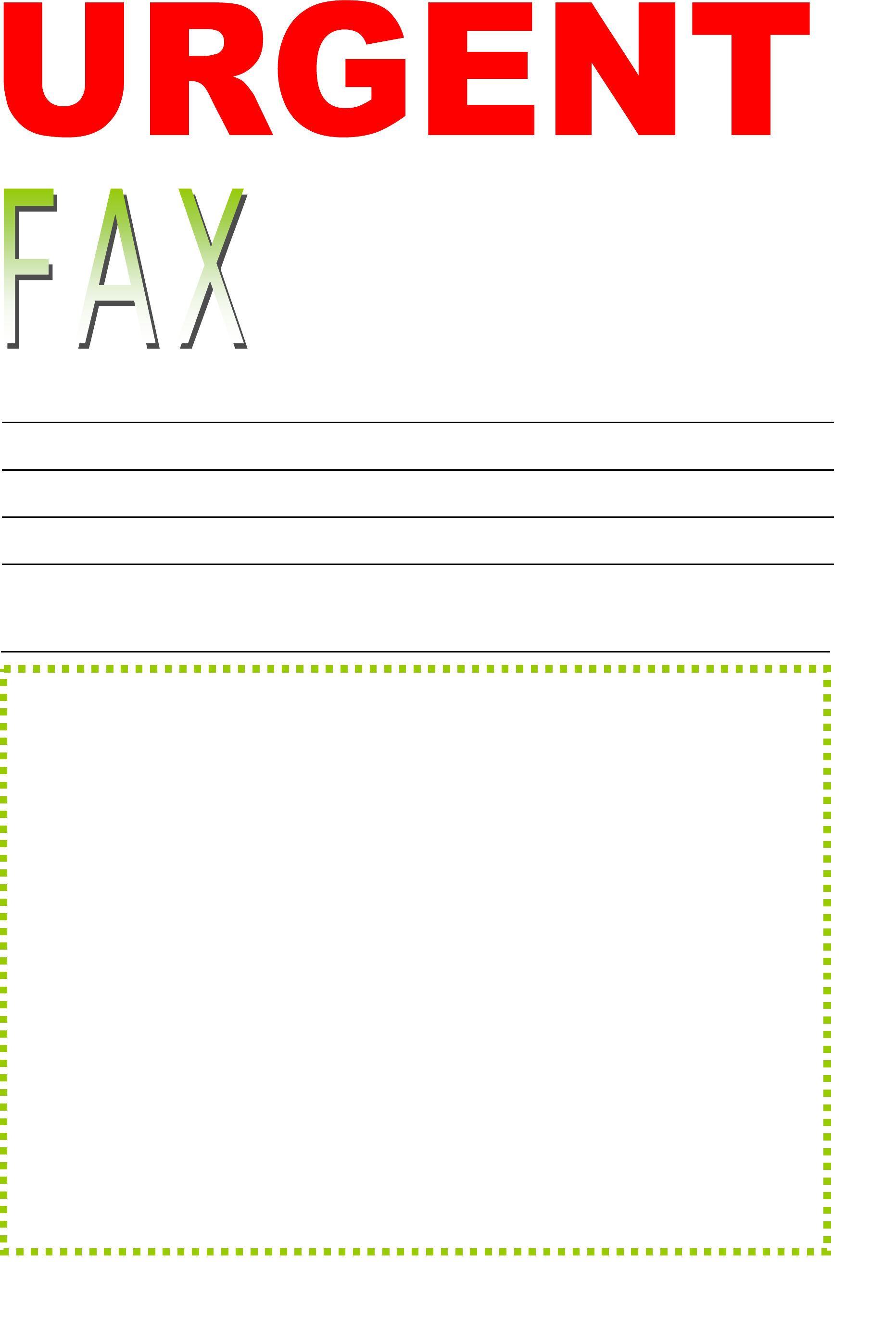 sample urgent fax cover sheet to