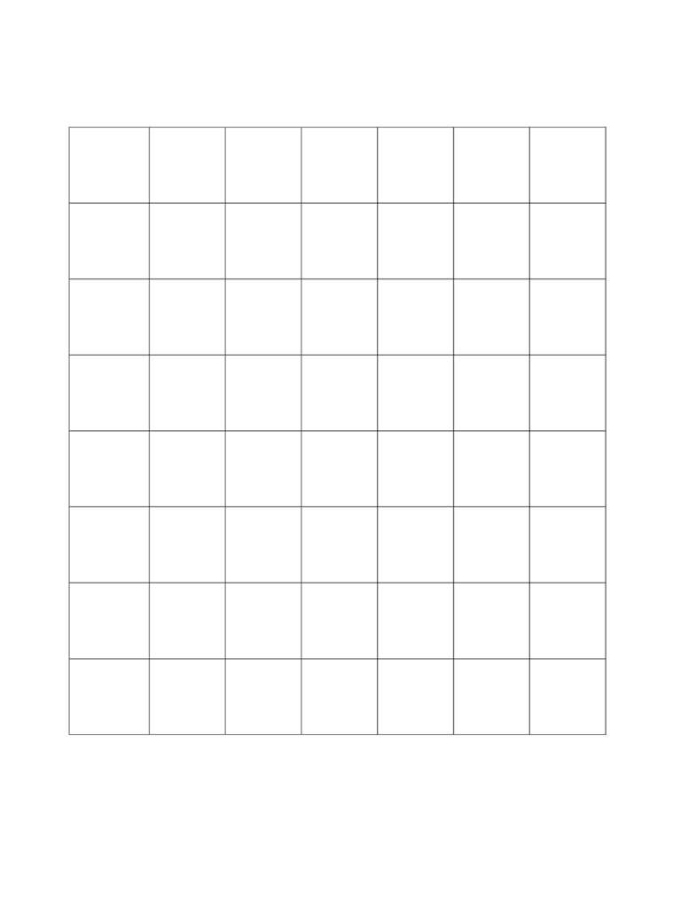 Sample 1 Inch Graph Paper