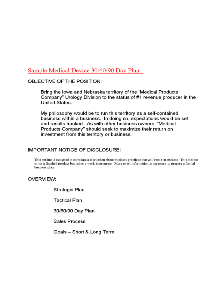 sample medical device 30