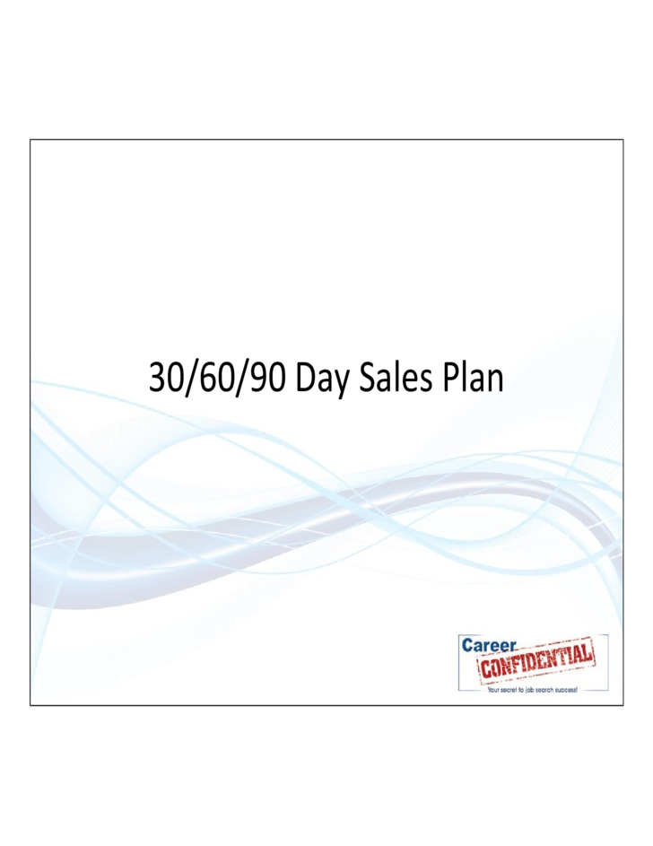 How to Write a Sales Business Plan