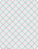 3D Paper - 10x10 Grid with Large Offset Free Download