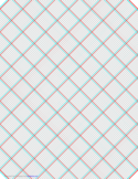 3D Paper - 10x10 Grid with Medium Offset Free Download