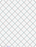 3D Paper - 5x5 Grid with Small Offset