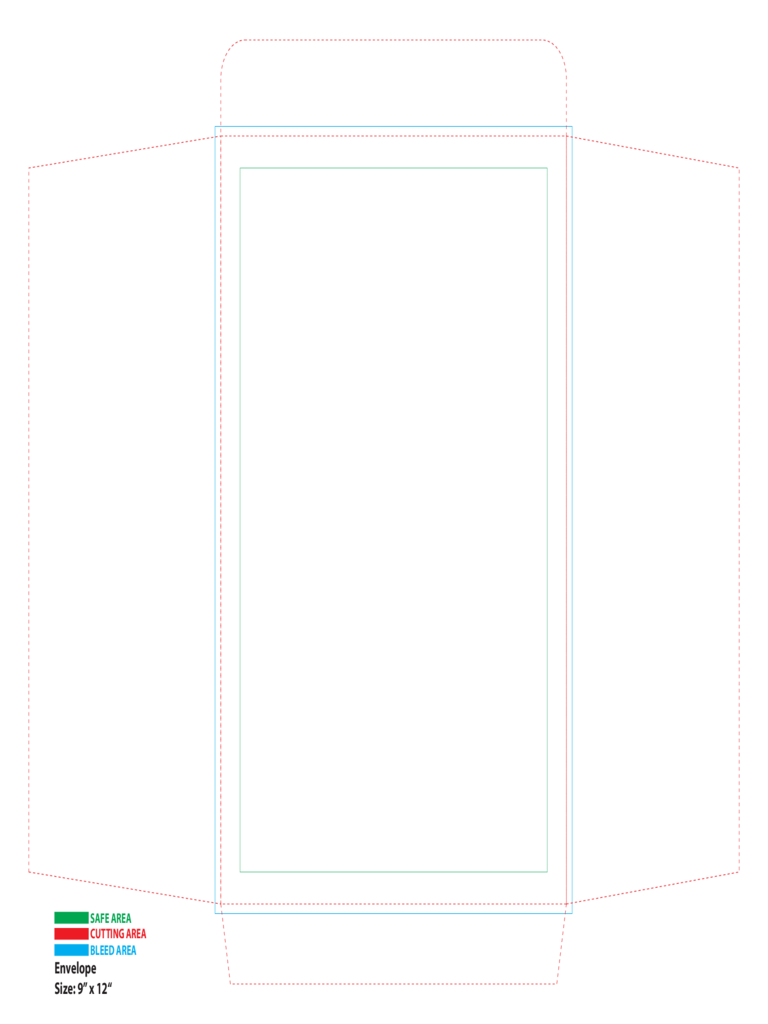 A Envelope Template Free Templates In PDF Word Excel Download - Envelope printing template word