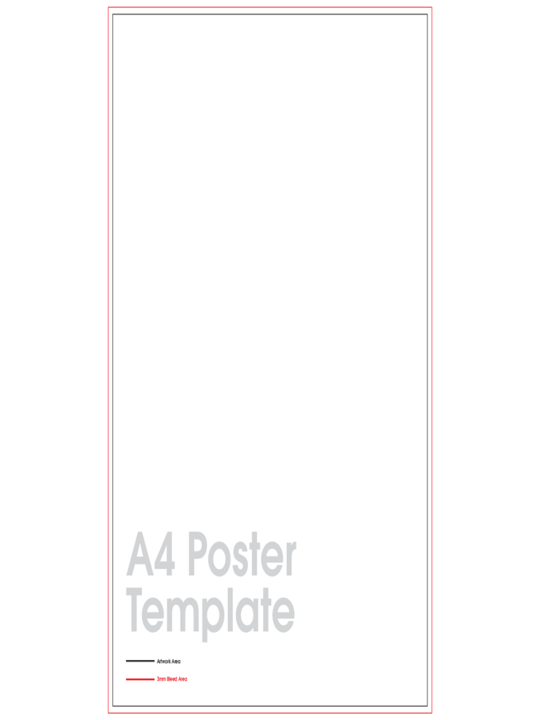 A4 Poster Sample