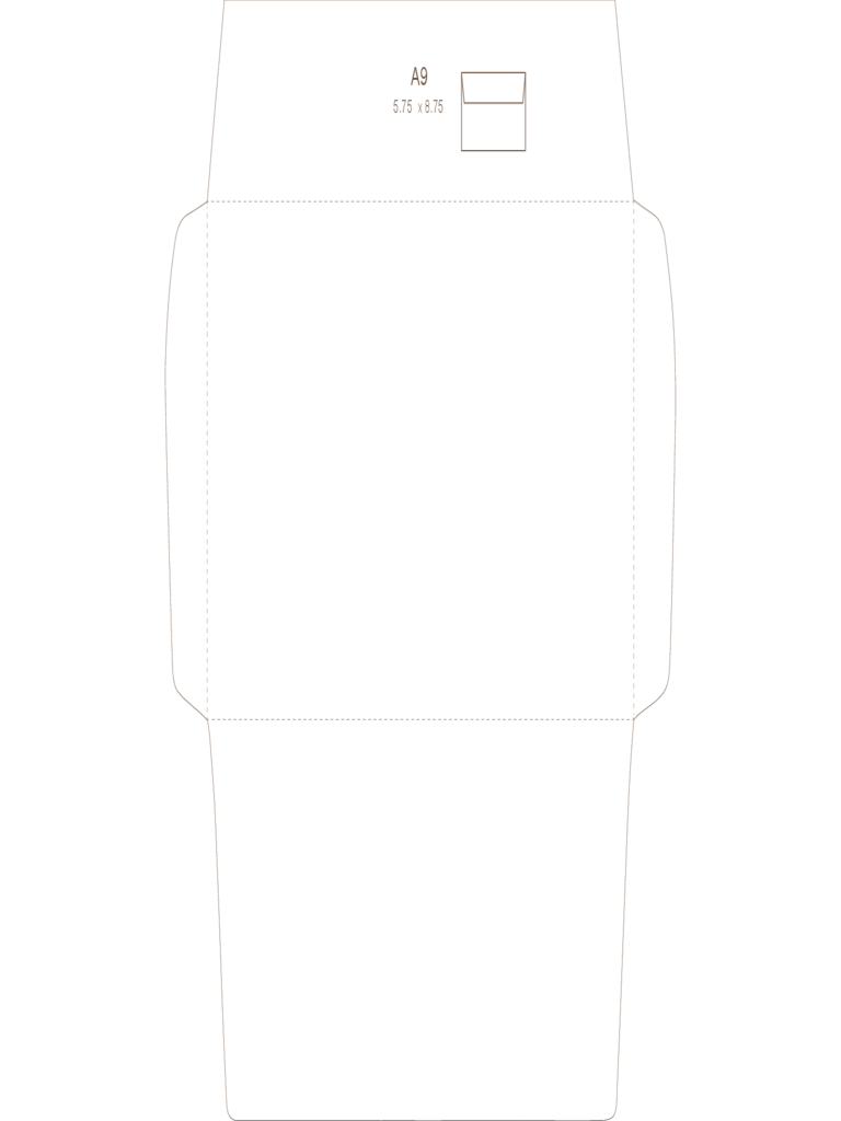 A9 Envelope Template 2 Free Templates In Pdf Word Excel Download