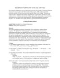 Examples of Abstract: Good, Bad and Ugly Free Download
