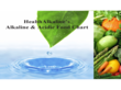 Health Alkaline's Alkaline and Acidic Food Chart