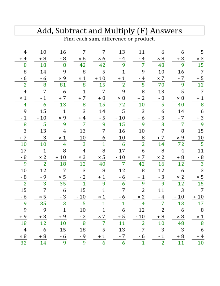 math worksheet : adding and subtracting 1 10 100 1000 worksheets  the best and  : Subtracting 10 Worksheet