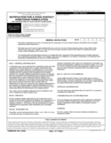 Form FDA 3479 - Notification for a Food Contact Substance Formulation
