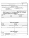 Form FDA 2767 - Notice of Availability of Sample Electronic Product