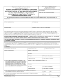 Form FDA 3542 - Patent Information Submitted upon/after Approval of an NDA or Supplement