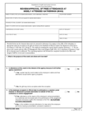 Form FDA 3539 - Review/Approval of Free Attendance at Widely Attended Gatherings (WAG)