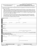 Form FDA 3613b - Supplementary Information Certificate of a Pharmaceutical Product