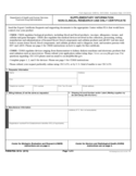 Form FDA 3613c - Supplementary Information Non-Clinical Research Use Only Certificate