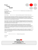 Sample Administrative Assistant Cover Letter Free Download