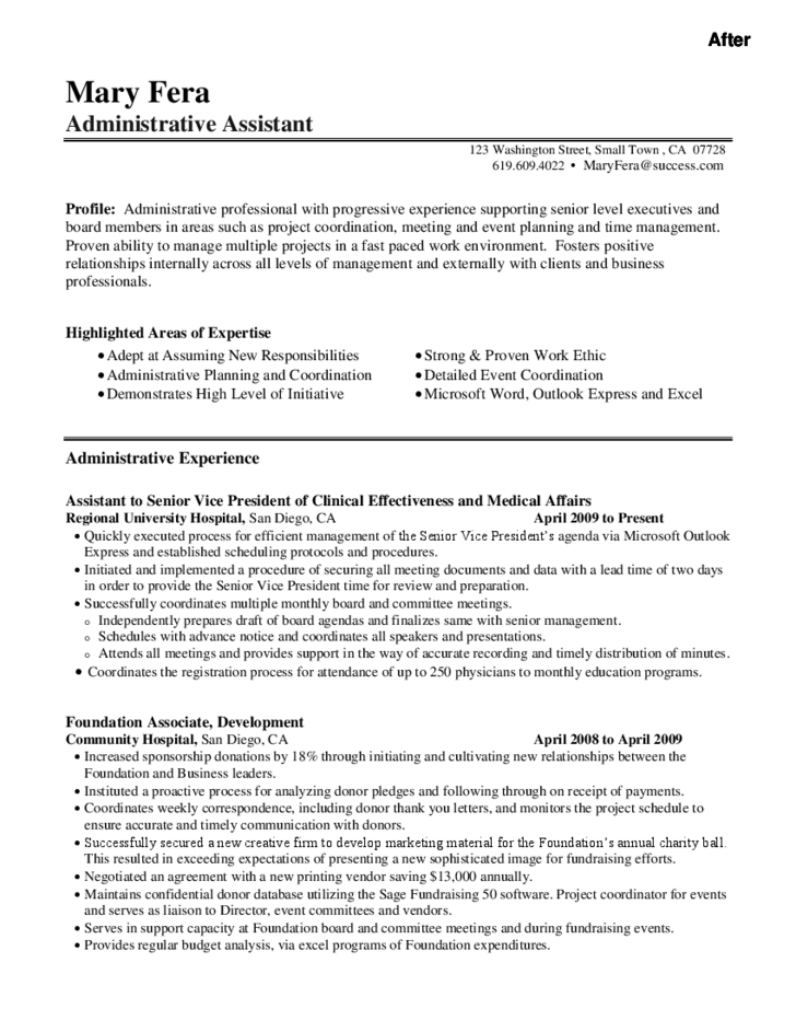 l r administrative assistant resume 28 images