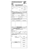 Texas Application to Amend Certificate of Birth Form