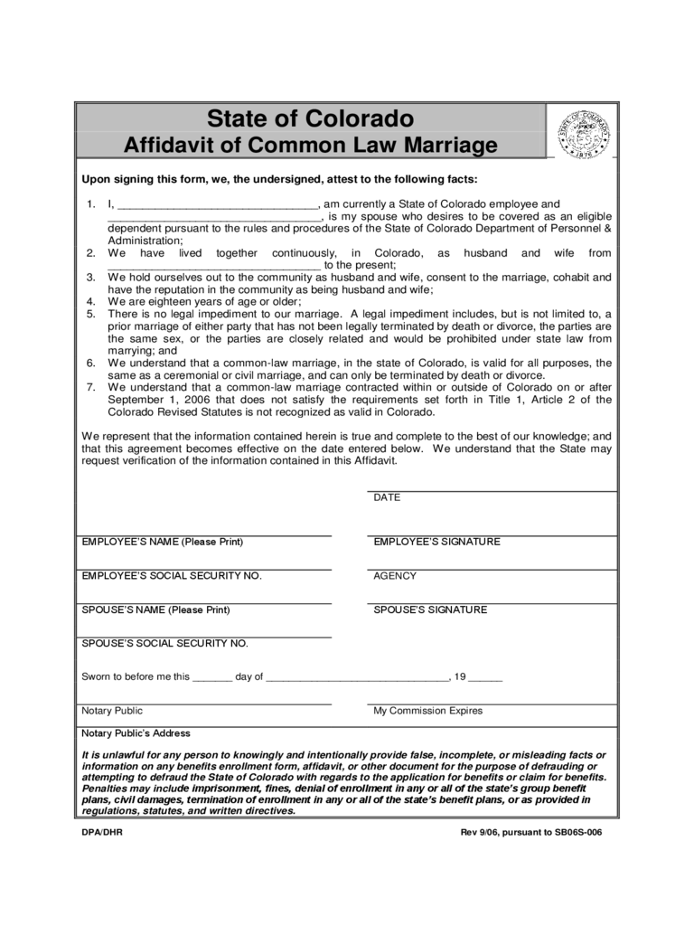 Common Law Marriage Md