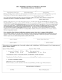 UHCL Sponsor's Affidavit and Declaration - Texas