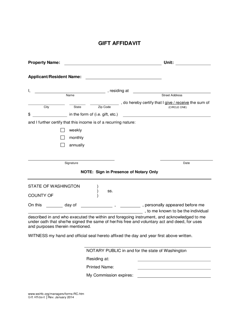 Affidavit of gift form 7 free templates in pdf word for Affidavit of gift of motor vehicle