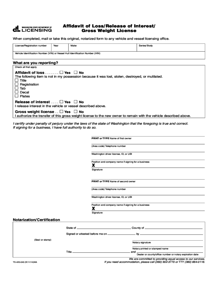Affidavit Of Loss Template Philippines Affidavit of Loss – Affidavit of Loss Template