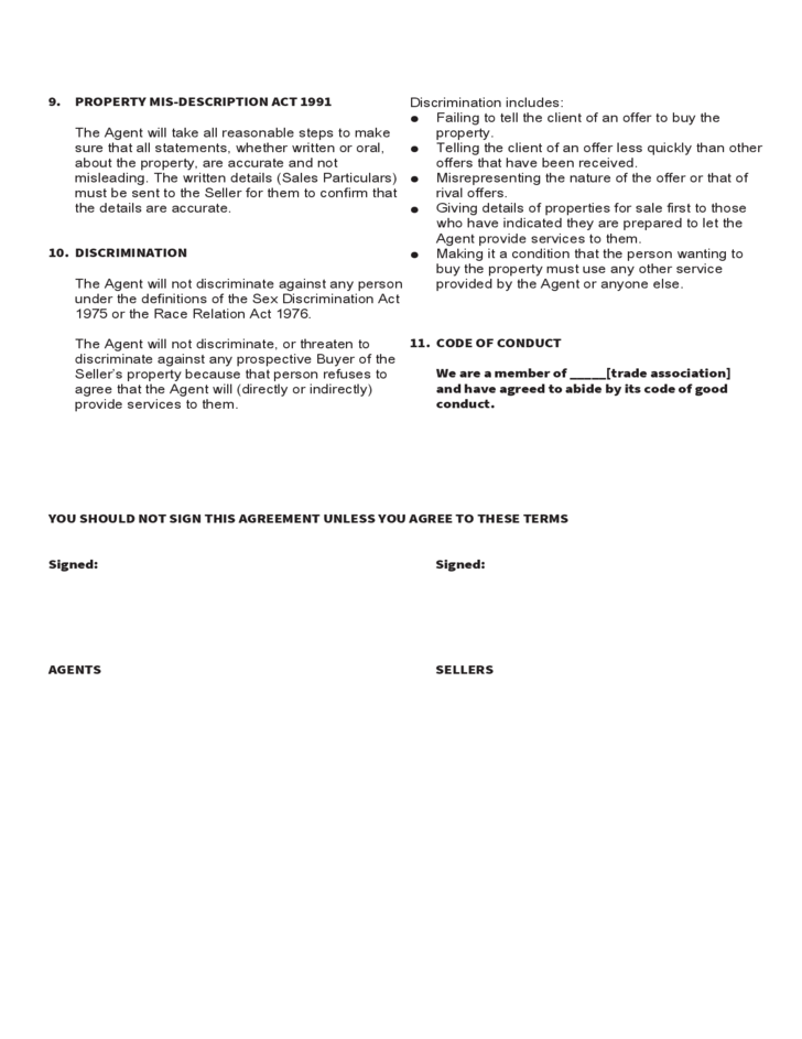 Agency Agreement Template U2013 Get Free Sample U2013 U2026 Before You Sign That  Contract With A Literary Agent, Make Sure You Understand All The Provisions.