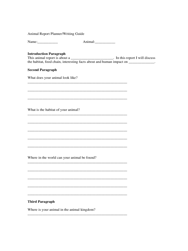 animal report templates info animal report template 5 templates in pdf word excel