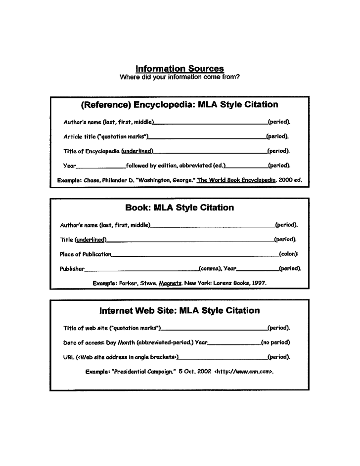 3rd Grade Animal Report Template Free Download