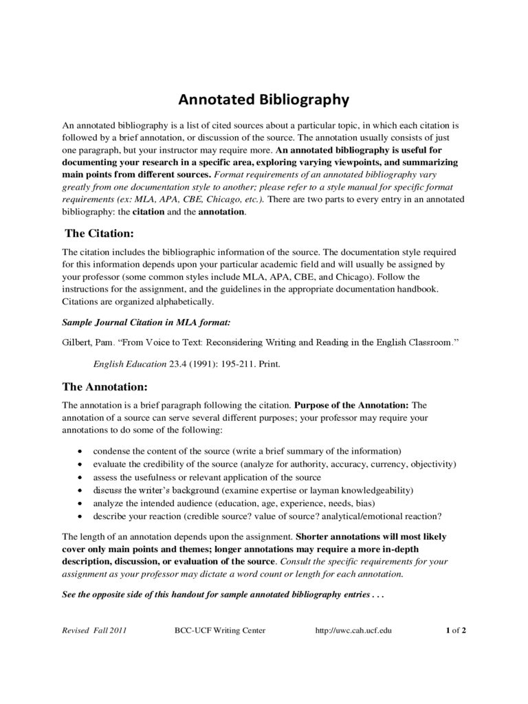 annotated bibliography thesis statement Annotated bibliography what is an annotated bibliography essentially, an annotated bibliography is an organized way of taking notes dictionarycom defines.
