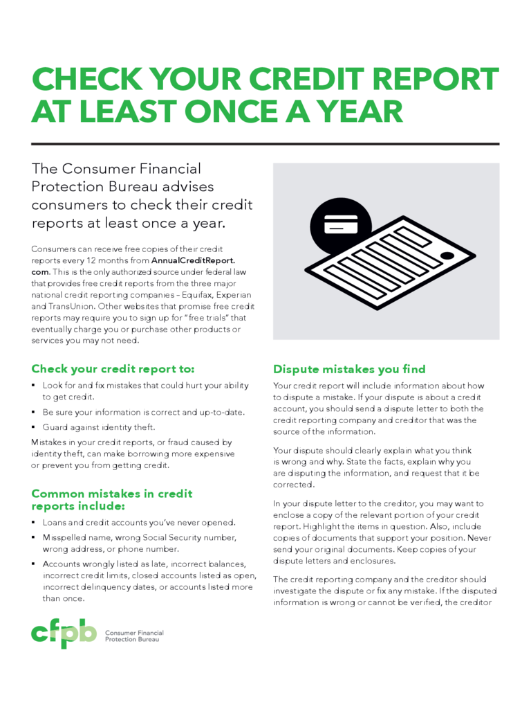 Annual Credit Report Guide