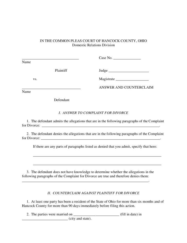 dating during divorce ohio Divorce and dissolution:  the only true no fault grounds for divorce permitted by ohio is living separate and apart for one year without interruption and.