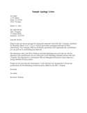 Sample Interviewee Apology Letter