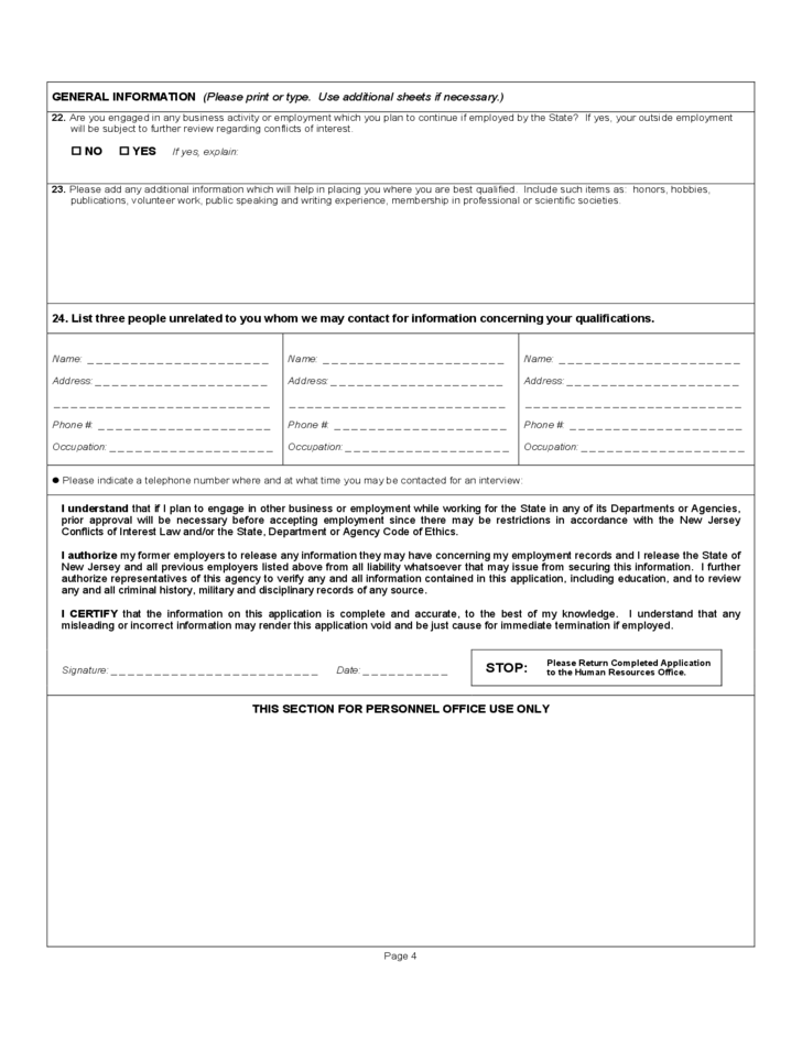 general employment application form free download ecza productoseb co