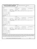 Continuation Sheet of Application for Employment