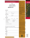 Army Application Form - Washington Free Download