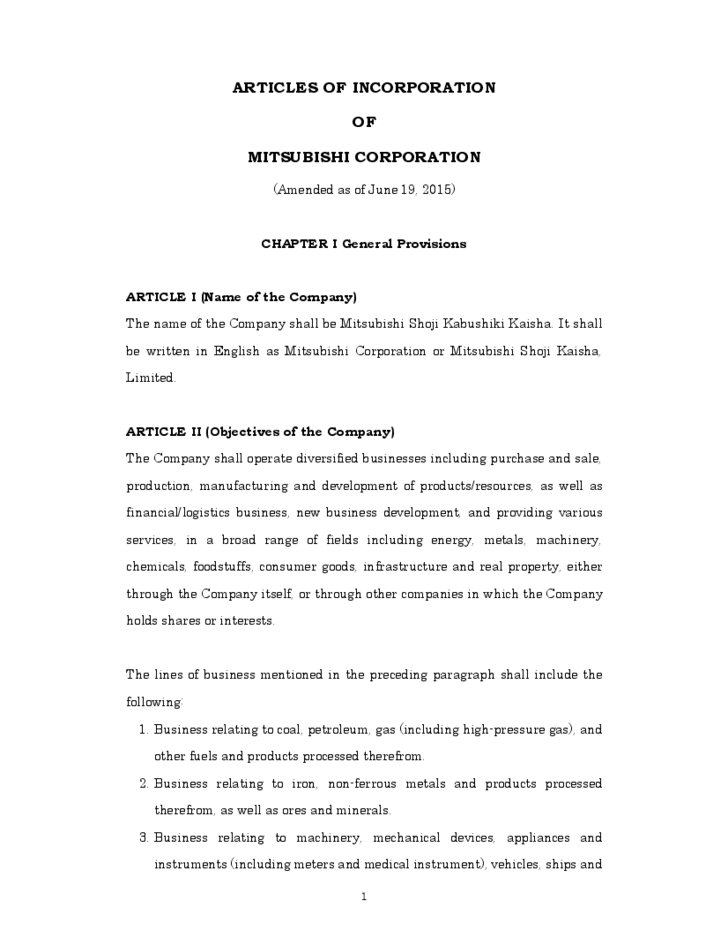 articles of incorporation template sample articles of incorporation template free 20506 | sample articles of incorporation template l2