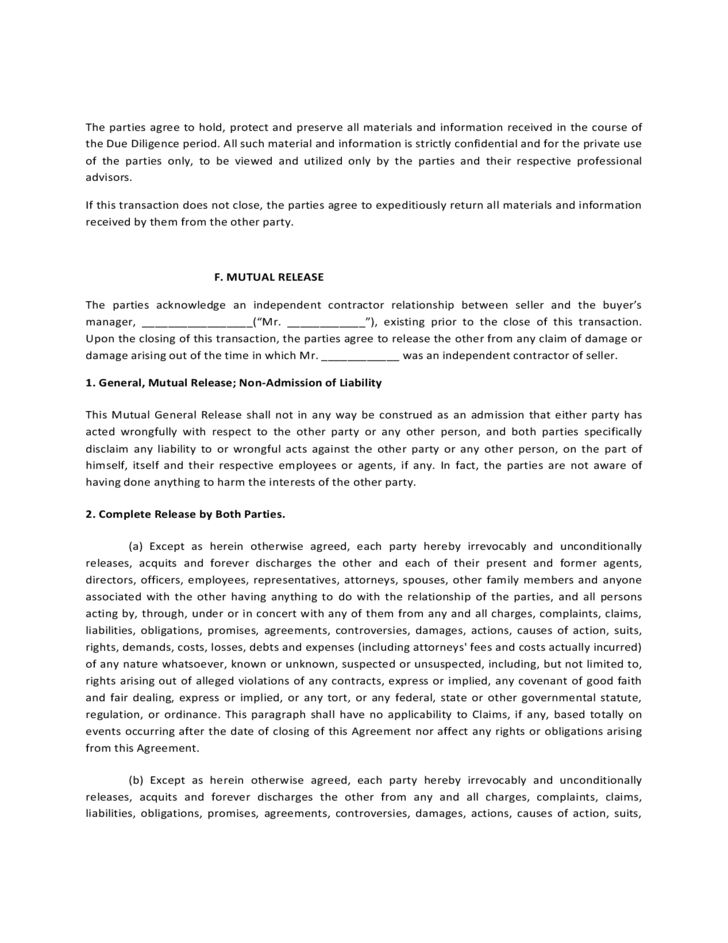 Asset Purchase and Sale Agreement Form Free Download – Asset Purchase Agreements