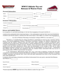 Athletic Waiver Form - Western Wyoming Community College Free Download