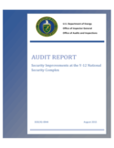 Audit Report - US Department of Energy Free Download